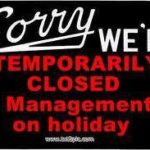 LiVecchi's Gun Sales will be closed for vacation June 24th – July 11th.