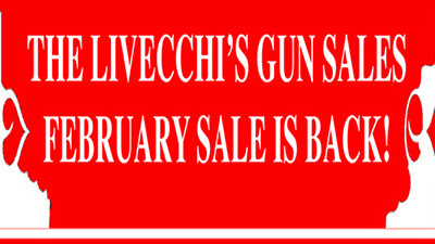 Annual LGS February Sale is Back! Stop in store for details