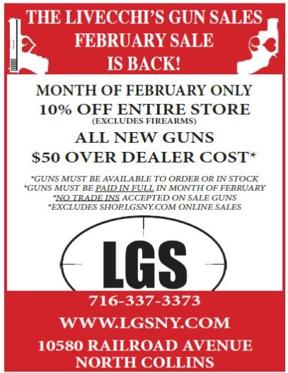 LGS Annual February Sale is Back!