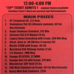 Upcoming Gun Raffles supported by LiVecchi's Gun Sales – Tickets available in the store
